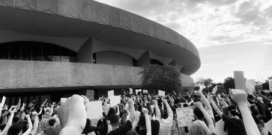 A+BLM+rally+in+Wichita+over+the+summer.