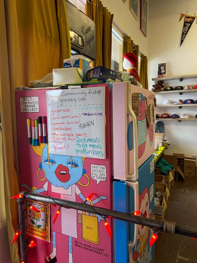 Fridge+located+at+Dead+Center+Vintage+where+people+donate+food%2C+clothes%2C+and+other+items.+